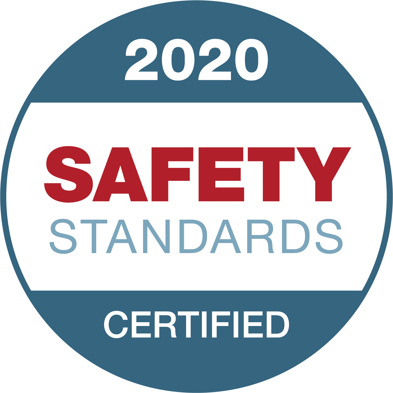 2020 safety standards certified